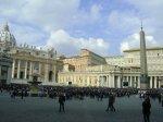 Crowd in Vatican