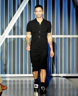 Marc jacobs in a skirt