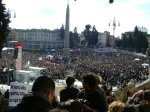 Protest in Rome
