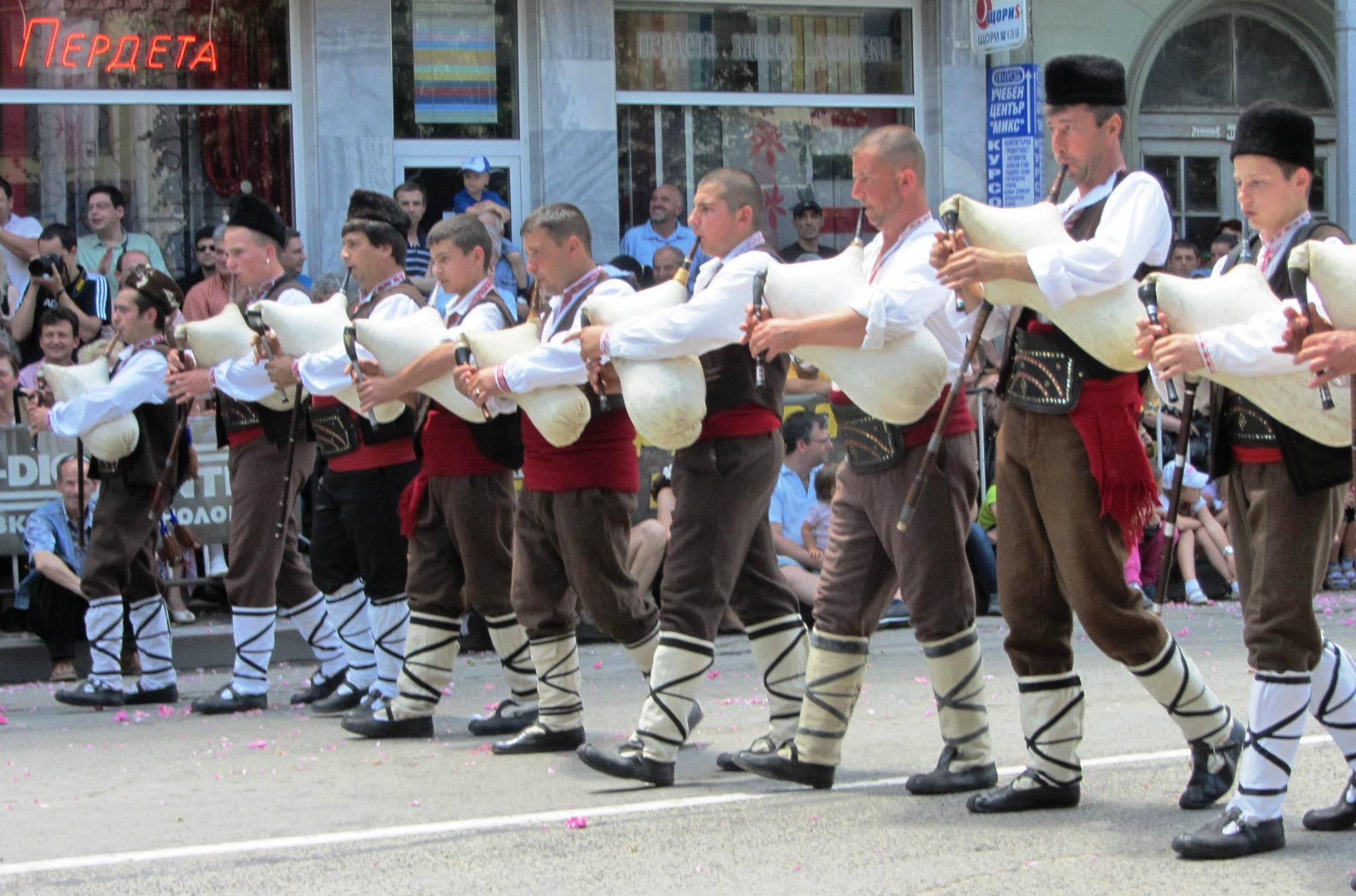 rose festival bulgarije