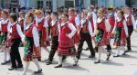 Bulgarian folklore dances costumes