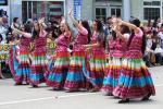 Gipsy dancers on Kazanlak Rose Parade