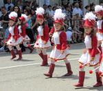 Rose Parade cheerleaders Kazanlak