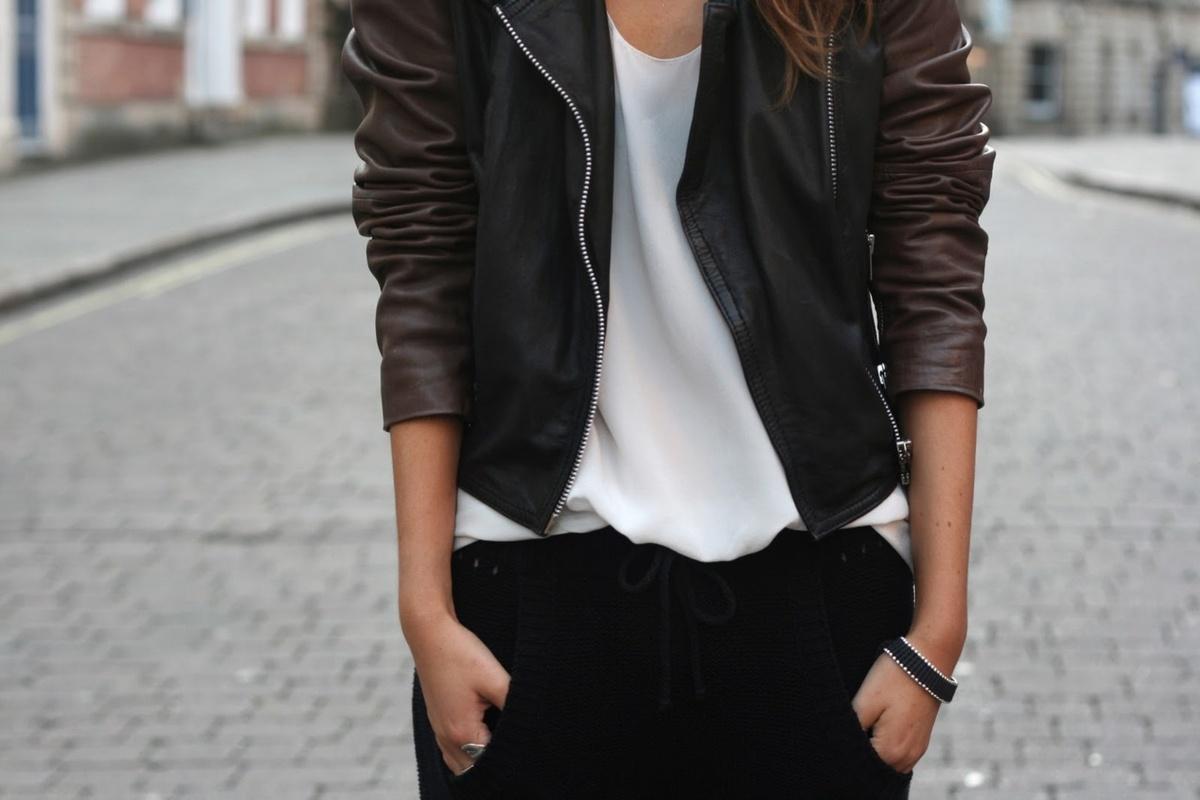 Girls Fashionable Clothes Tumblr Girls Leather Jacket