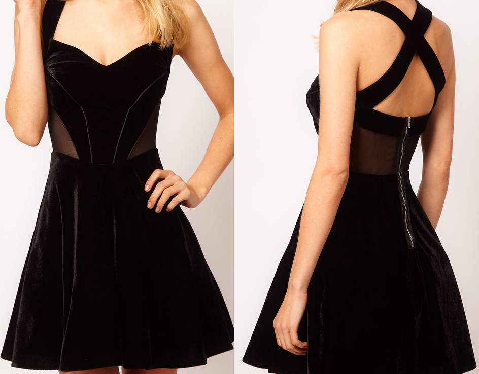 Party Dress Ideas In Black
