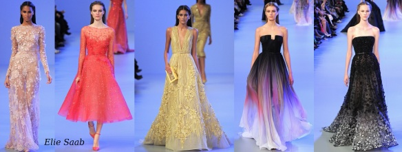 Elie Saab Haute Couture Gowns 2014