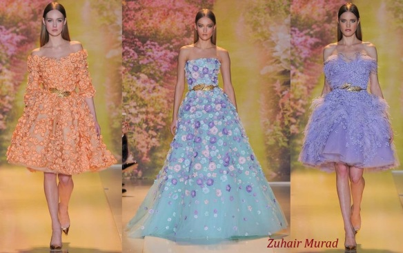 Zuhair Murad gowns high fashion