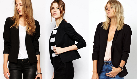 Черно сако за офис, бизнес облекло