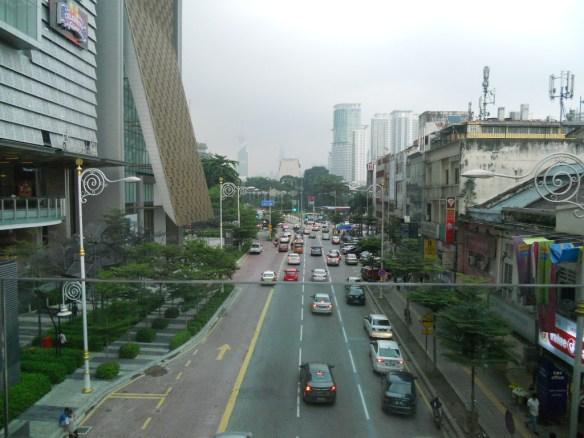 Една от по-добре организираните улици