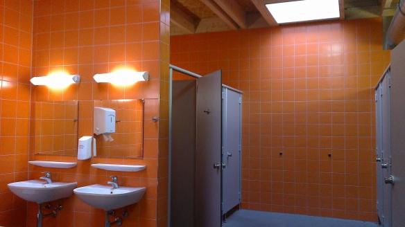 Тоалетна в къмпинг в Австрия